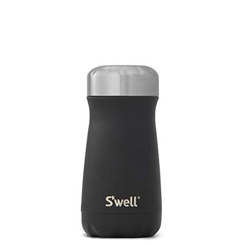 Black Onyx Cube (S'well Stainless Steel Travel Mug, 16 oz, Onyx)