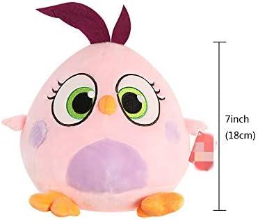 letaowl Juguete de Peluche The Angry Kawaii Birds Movie 2 Peluches Suffed Cartoon Dolls Soft Birds Figuras Regalo Divertido para Niñas 7 Pulgadas
