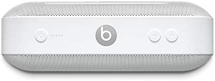 Beats Capsule+ Moveable Wi-fi Speaker – Stereo Bluetooth, 12 Hours Of Listening Time, Microphone For Telephone Calls – White
