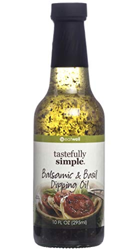 - Tastefully Simple Balsamic & Basil Dipping Oil