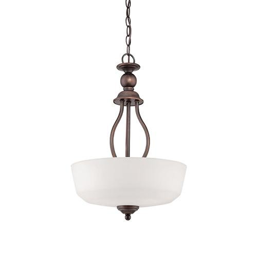 Millennium 3083-RBZ Three Light Pendant, Bronze/Dark
