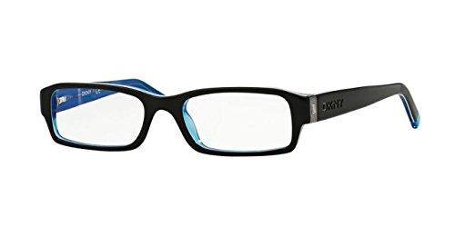 Eyeglasses Donna Karan New York DY 4585 B 3387 BLACK-WHITE-BLUE - Karan Eye Frames Donna