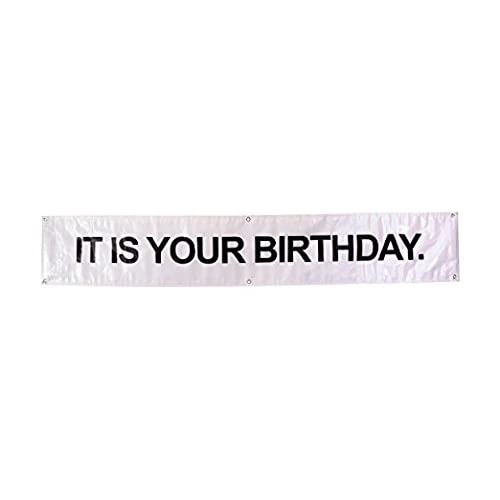 High Quality IT IS YOUR BIRTHDAY Banner The Office Vinyl Party