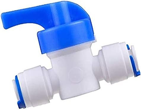 Liuer 2PCS Tubo de Suministro de Agua para Frigor/ífico de 10 m Tubo de Agua para Nevera con kit de Accesorios de Conector para Refrigerador Doble de Estilo Europeo Tubo de 1//4 de Pulgada