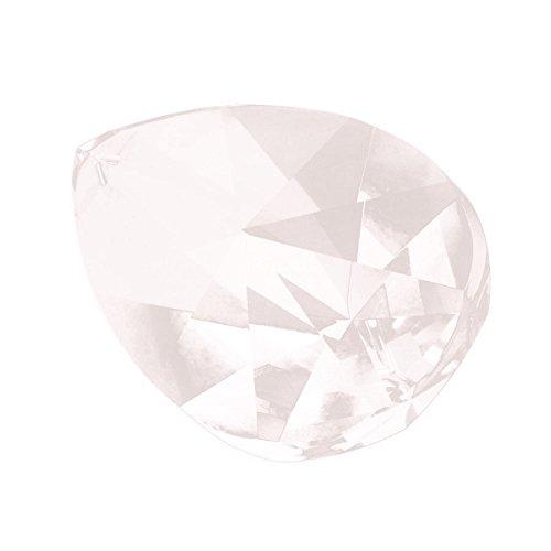 HIGHROCK 63mm Asfour Crystal Teardrop Suncatcher Crystal Prisms Tears Shape (Prisms Crystal Teardrop)