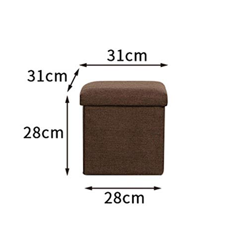 JiaQi Creative Storage ottoman,Cloth Foot stools,Ottoman bench Stackable...