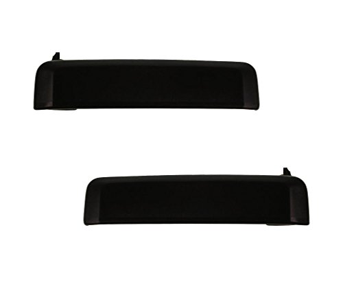 Driver and Passenger Outside Outer Door Handles Replacement for Nissan Pickup Truck SUV 8060701A10 8060601A10