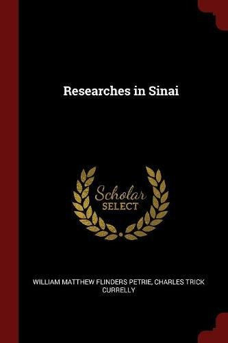 Researches in Sinai PDF