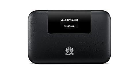 Huawei E5770s-320 150 Mbps 4G LTE Mobile WiFi Hotspot - Black (Mobile Wifi Huawei 4g)