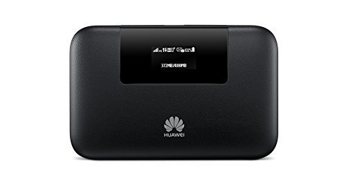 - Huawei E5770s-320 4G LTE 150 Mbps Mobile WiFi Pro (20 hours working, Power Bank Feature, Ethernet Port) (Black)