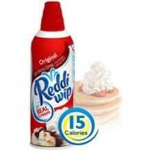 Reddi Whip Original Whipped Topping, 6.5 Ounce -- 12 per case.