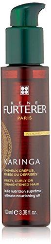 Rene Furterer KARINGA Ultimate Nourishing Oil, Frizzy, Coarse, Texture Hair, Shea Butter, Argan Oil, 3.3 oz. (Rene Furterer Modeling Paste)