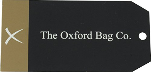 Oxford Classic bolso de piel hecho a mano Bolsa para raquetas de tenis Company 457,2 cm - diseño de detalles perforados canela