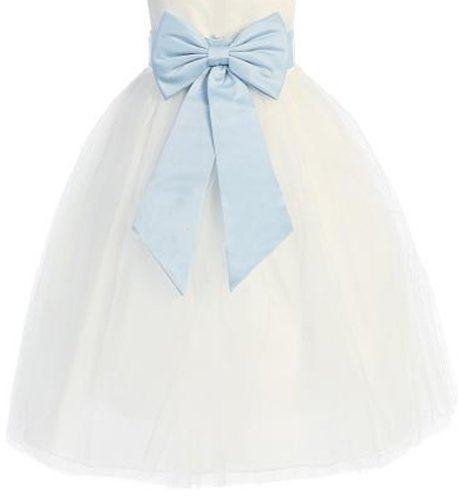 Buy light blue and silver wedding dresses - 4