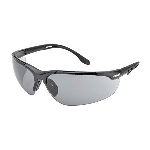Elvex Sphere-X Ultimate Safety Glasses-Black Frame-Grey Anti-Fog Lens (Bundle of 5) - SG-51G-AF