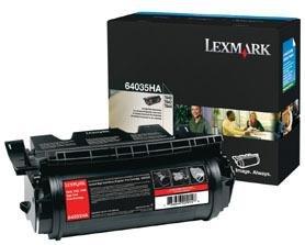 EcoPlus replacement T640, T642, T644 (64035HA) TONER CTG, BLACK, 21K HIGH - 21k Black Toner