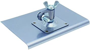 5//8-Inch Lip 9-Inch by 6-Inch Stainless Steel Walking Edger MARSHALLTOWN The Premier Line 125 1//2-Inch Radius