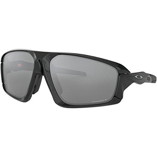 Combat Field Jacket - Oakley Men's Field Jacket Sunglasses,OS,Polished Black/Black