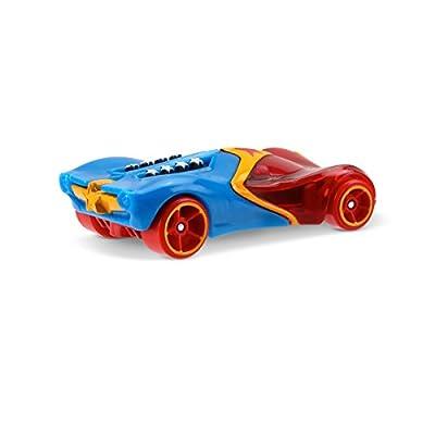 Hot Wheels DC Comics Superhero Girls Wonder Woman Vehicle: Toys & Games