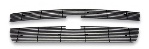 - APS Compatible with 2006-2007 Chevy Silverado 1500 2005-2006 2500HD 3500 Black Billet Grille Grill Insert C65306H