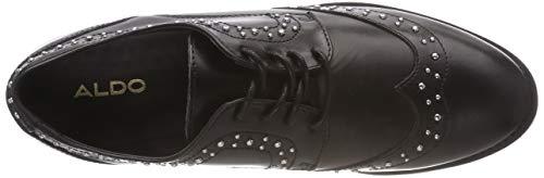 3 Zapatos para Olaowia Mujer de Negro 92 Black Oxford Cordones Aldo Jet qvwx5dSXS