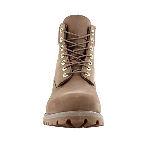 Timberland Men's 6'' Premium Waterproof Boot New Greige Waterbuck 10 D US