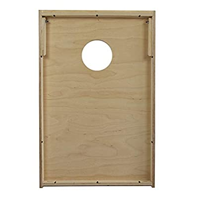 Retractable Legs and Back Bounce Brace Baltic Birch Plywood Tops for The Smoothest Flattest Playing Surface Slick Woodys Malaysian Black Wood Cornhole Set with 8 Cornhole Bags