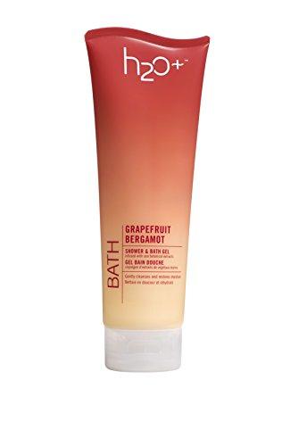 H2O+ Beauty  Shower and Bath Gel, Refreshing Body Wash, Grapefruit Bergamot, 8.5 Ounce
