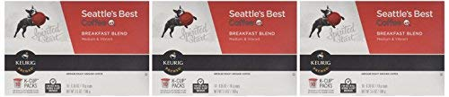 Seattle's Best, Single Serve K-Cup Coffee, 3.5oz Box (Pack of 20)