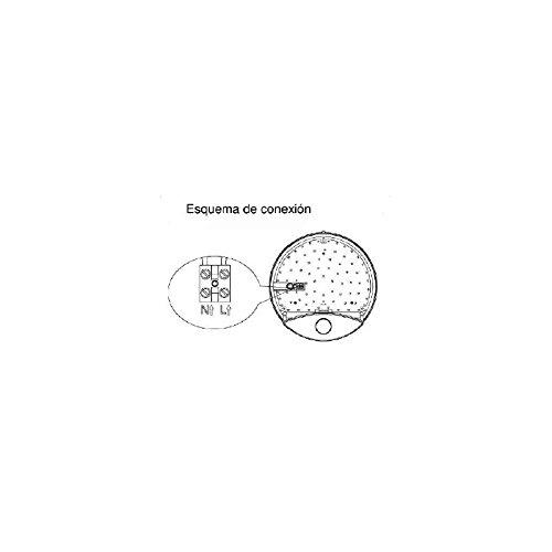 Plafón LED 15W de Pared Detector Movimiento EFILUX: Amazon.es: Bricolaje y herramientas