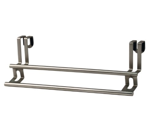 UPC 010591015574, Spectrum Diversified Towel Bar, Over the Cabinet Door, Brushed Nickel
