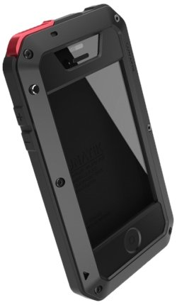 finest selection eae65 ba037 Lunatik TPBBR-030G-Taktik Extreme Case for iPhone 4/4S-1 Pack-Retail  Packaging-Black