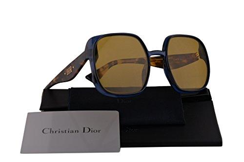 Christian Dior DiorNuance Sunglasses Blue w/Brown Lens 56mm PJP70 DiorNuance/S Diornuance Dior (Dior Sunglasses Brown Lens)