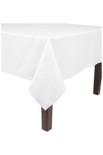 KAF Home Banquet Tablecloth in White, 90