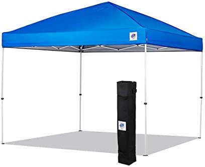 NEW E-Z UP Envoy Instant Shelter Canopy, 10 by 10 , Royal Blue