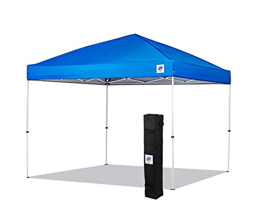 NEW E-Z UP Envoy Instant Shelter Canopy, 10 by 10', Royal Blue (Best Easy Up Canopy)