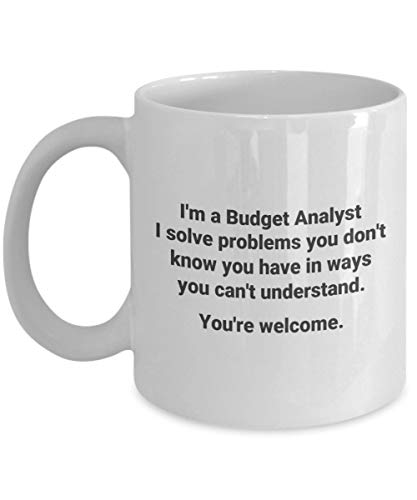 Im a Budget Analyst Solve Problems Funny Occupational