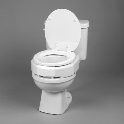 Removable Hinged Raised Toilet Seat Type: Regualr by Ableware (Image #4)