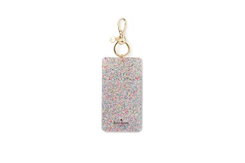 Kate Spade New York Id Badge Clip Key Chain, Multi Glitter from Kate Spade New York