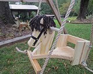 product image for Toddler Horse Tree Swing/with 10 Feet of Rope Per Side
