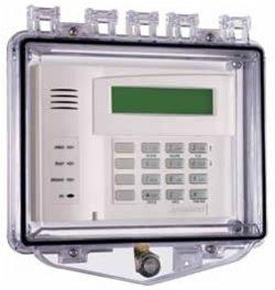 Safety Technology - STI-7510E - Mini mega stopper, polycarbonate enclosure for keypads and by STI (Image #1)