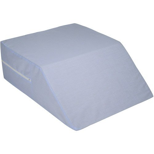 eva-medical-ortho-bed-wedge-8-x-20-x-24-with-blue-polyester-cotton-cover-made-in-usa
