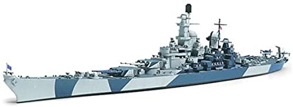 1:700 Scale Us Navy Battleship Bb-61 Iowa Model Kit