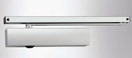 pack complet avec plaque de montage et coulissante Geze Ferme-porte TS5000/TS 5000/Blanc RAL9016