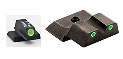 Ultimate Arms Gear SW-145 S&W Smith & Wesson M&P Shield 3 Dot Night Sight Set , by Ultimate Arms Gear