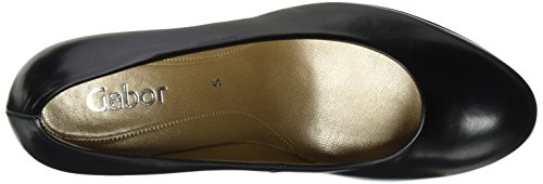 mujer Black Lavender Gabor Leather para Zapatos L XqRqwxIUP