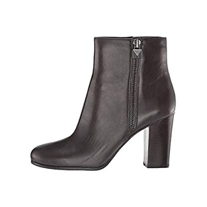 Michael Kors Women's Shoes Ankle Boots Margaret Bootie 40F8MGHE7L BlkBrown New 1