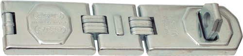 ABUS 110/195 Hardened Steel Concealed Hinge Pin Hasp (7-3/4'') by ABUS