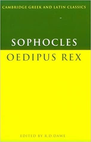 irony of fate in oedipus rex