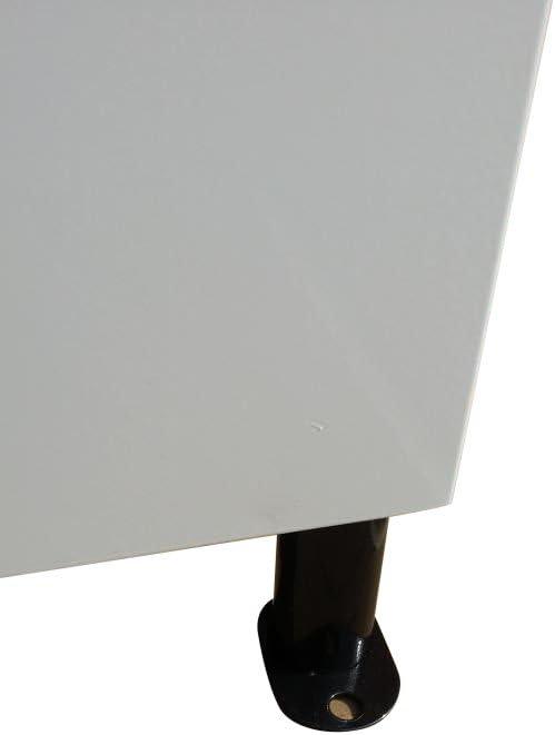 Metz independiente o para pared color negro Buz/ón de gran tama/ño con cerradura